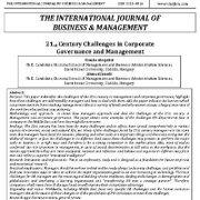 چالشهای قرن ۲۱ در حاکمیت و مدیریت شرکت