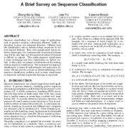مطالعهای مفصل در خصوص طبقه بندی توالی