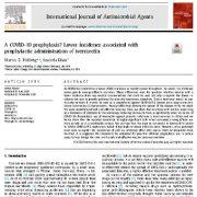 پیشگیری از COVID-19؟ شیوع و بروز کمتر همراه با تجویز پیشگیری کننده ایورمکتین
