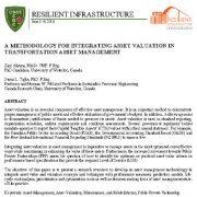 روش یکپارچه سازی ارزشگذاری دارایی در  مدیریت دارایی حمل و نقل