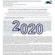 مروری بر ارتباطات سبز انرژی کارآ