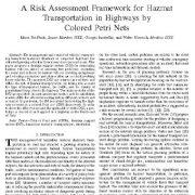 "<span itemprop=""name"">الگوی سنجش  ریسک برای جا به جایی مواد خطرناک در آزادراه ها</span>"