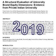 ارزیابی ساختاری ابعاد ارزش ویژهی برند دانشگاه: شواهدی از دانشگاه