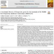 مرور سیستماتیک عوامل درمانی برای درمان سندرم تنفسی کروناویروس