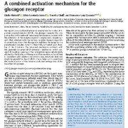 مکانیسم فعال سازی  ترکیبی برای گیرنده گلوکاگون