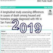 ارزیابی تفاوتها در علل مرگ و میر در میان افراد خانه دار و بی خانمان