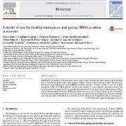 استفاده از یک مدل درمانی و مراقبتی برای افزایش سن و یائسگی سالم