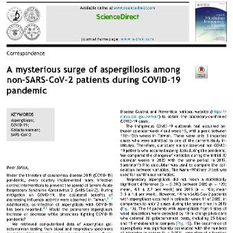 افزایش مرموز آسپرژیلوز در بیماران غیر SARS-CoV-2 در طی بیماری همه گیر COVID-19