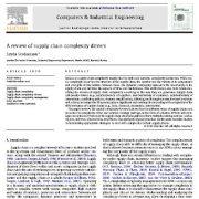 مقاله مروری در خصوص  عوامل پیچیدگی زنجیره تامین