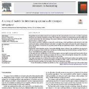 بررسی مدلهای تعیین استراتژیهای حسابرسی بهینه