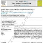 یک مطالعه پیمایشی در مورد پروتکلهای مسیریابی پشتیبانی شده