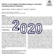 AFSndn:  استراتژی ارسال تطبیقی در  شبکه بندی داده های نام گذاری شده