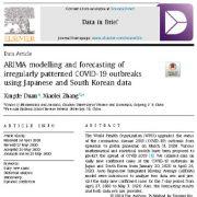 "<span itemprop=""name"">مدل سازی و پیش بینی ARIMA از شیوع COVID-19 با الگوی نامنظم</span>"