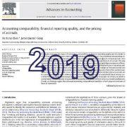 مقایسه پذیری حسابداری، کیفیت گزارشگری مالی و قیمت گذاری