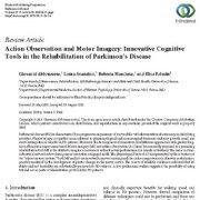 مشاهده عمل و تصویر سازی حرکت: ابزارهای شناختی نواورانه در توانبخشی بیماری پارکینسون