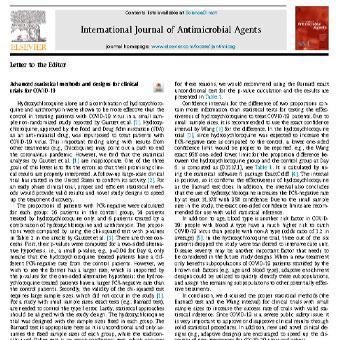 روش ها و طرح های آماری پیشرفته برای آزمایشات بالینی COVID-19