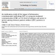 مطالعه اکتشافی  اثر  فناوری ارتباطات و اطلاعات(ICT) یا ارتباطات کامپیوتری(CMC)