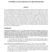 یک مدل فرایند اطلاعاتی مبتنی بر یک رویکرد مشترک