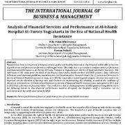 تجزیه و تحلیل خدمات مالی و عملکرد در بیمارستان الاسلام یوکاکارتا