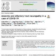 """<span itemprop=""""name"""">آنوسمی و نوروپاتی مجرای بویایی در بیماران   COVID-19</span>"""