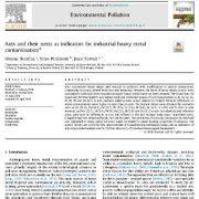 مورچهها و لانههای آنها اندیکاتور یا شاخصی برای آلودگی