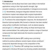 کاربرد تیتانیوم در زیست پزشکی