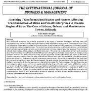 ارزیابی وضعیت تحول و عوامل مؤثر در تحولات بنگاه های خرد و کوچک