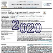 ارزیابی اثرات قرنطینه کل کلان شهرها در گسترش COVID-19