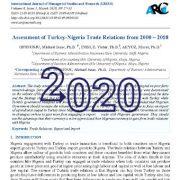 ارزیابی روابط تجاری ترکیه و نیجریه از سال ۲۰۰۰ – ۲۰۱۸