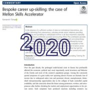 تقویت مهارت شغلی قرار دادی: مورد مربوط به شتاب دهندهی مهارت ملون