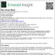 بررسی برند سازی یا ایجاد برند در سرویس وخدمات کتابخانه های عمومی بریتانیا
