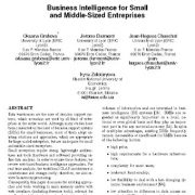 هوش کسب و کار برای شرکتهای با اندازه کوچک و متوسط
