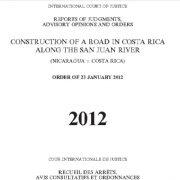 گزارشات، نظرات مشورتی و احکام: ساخت و ساز جادهای