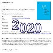 COVID-19: انتقال، پیشگیری و فرصتهای بالقوه درمانی