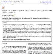 "<span itemprop=""name"">کروناویروس(COVID-19) و اضطراب: ارزیابی اثرات روان شناختی بیماری های مسری</span>"