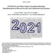 کوید۱۹(COVID-19) و  ترومبوآمبولی  اندام اصلی