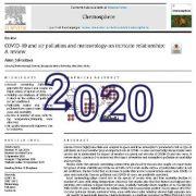 کوید-۱۹ و آلودگی هوا و هواشناسی: یک رابطه ی پیچیده: مرور اجمالی