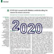 کوید ۱۹ (COVID-19) در افراد مبتلا به دیابت: درک دلایل مربوط به بدترین پیامد
