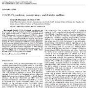 بیماری همه گیر COVID-19 ، ویروس های کرونا ، و دیابت شیرین