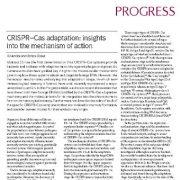 سازگاری CRISPR – Cas:: بینشها و دیدگاههایی در خصوص مکانیسم عمل