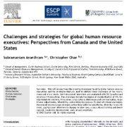 چالشها و راهبردهای مدیریت جهانی منابع انسانی