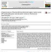 شناسایی مواد آلی انحلال یافته ی مشتق از بیوچار با استفاده از طیف سنجی فلورسانس گسیلش