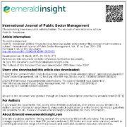 ویژگیهای مدیریت عمومی آمریکا: مفهوم فرهنگ مدیریتی