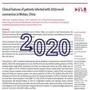 ویژگیهای بالینی بیماران آلوده به کروناویروس جدید ۲۰۱۹ در ووهان چین