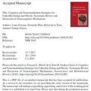 استراتژیهای شناختی و نورومدولاسیون برای تغذیهی ناسالم و چاقی