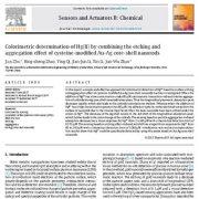 تعیین کالریمتریک جیوه (II) با ترکیب اچینگ (سونش) و اثر تجمیع
