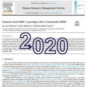 مدیریت منابع انسانی در راستای منافع عمومی: تغییر پارادایم در مدیریت