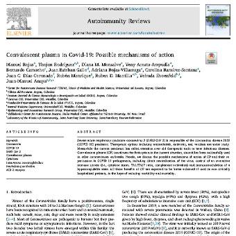 پلاسمای بیماران بهبود یافته در COVID-19: مکانیسم عمل