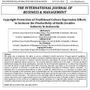 محافظت از حق چاپ یا کپی رایت برای بیان فرهنگ سنتی تلاش