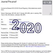 کروناویروس ۲۰۱۹ (COVID-19) و بارداری: متخصصان زنان و زایمان